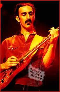 Frank Zappa<BR> <I>Photo: Poul-Erik Rath Holm </I>