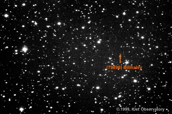 Image of minor planet (79896)Billhaley was taken on 1999 January 22